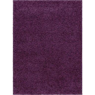 Dywan LUMINI fioletowy 160 x 220 cm wys. runa 40 mm INSPIRE