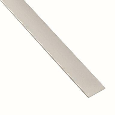 Płaskownik aluminiowy 2.6 m x 15 x 2 mm anodowany srebrny