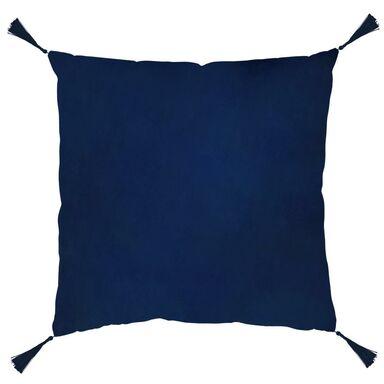 Poduszka z frędzlami Nemo granatowa 40 x 40 cm