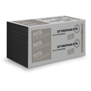 Styropian fasadowy niefrezowany 033 GRAFIT 100 STB