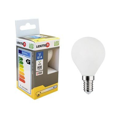 Żarówka LED E14 6.5 W = 60 W 806 lm Ciepła LEXMAN