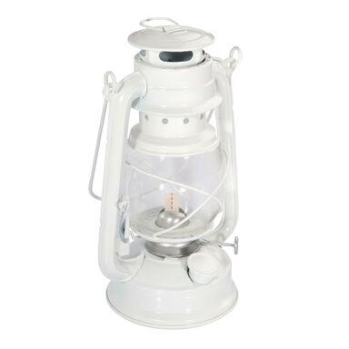 Lampa naftowa biała 24 x 14 x 11.5 cm