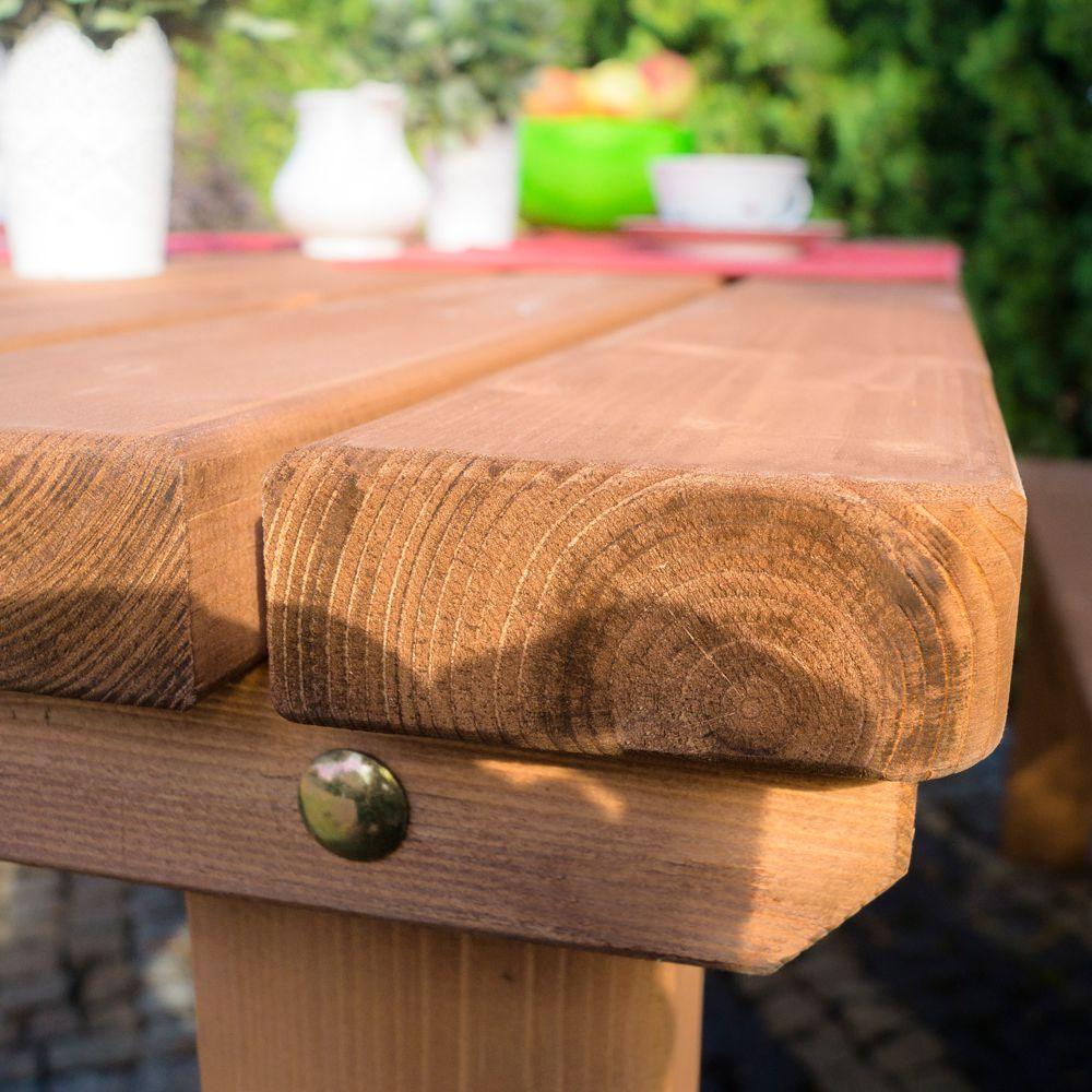 wykonania drewniane  Meble ogrodowe dostępne w Leroy Merlin