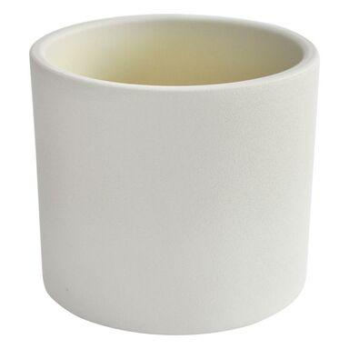 Osłonka ceramiczna 17 cm biała WALEC CERAMIK