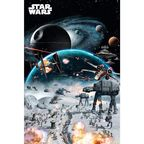 Plakat STAR WARS - BATTLE 61 x 91.5 cm