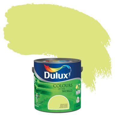 Farba wewnętrzna KOLORY ŚWIATA 2,5 l Zielona wyspa DULUX