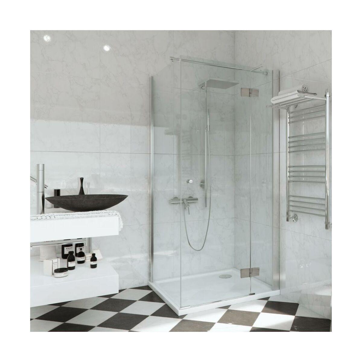 Drzwi Prysznicowe 70 X 195 Remix Sensea Drzwi I Scianki Prysznicowe W Atrakcyjnej Cenie W Sklepach Leroy Merlin