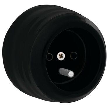 Gniazdo pojedyncze CLA2002  czarny