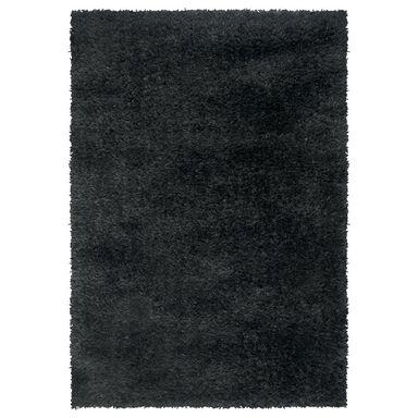 Dywan NEW TOUCH czarny 160 x 230 cm wys. runa 40 mm IZRAEL