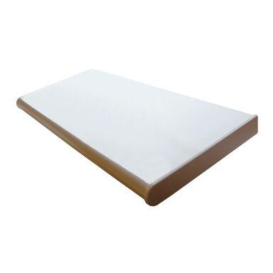 Parapet wewnętrzny płyta wiórowa biały połysk 305x30x2.8 cm Biuro Styl