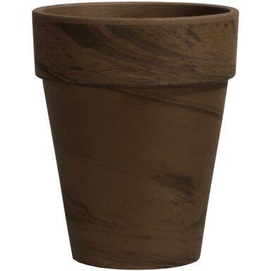 Doniczka ceramiczna 17 cm grafitowa XL BASALT CERMAX