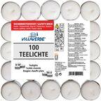 Podgrzewacz tealight 100 szt. bezzapachowy