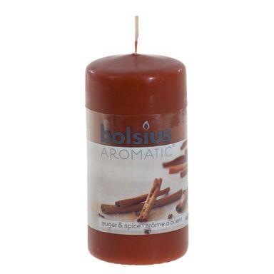 Świeca pieńkowa zapachowa AROMATIC cynamon BOLSIUS