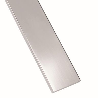 Płaskownik stalowy nierdzewny 1 m x 20 x 3 mm polerowany