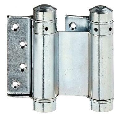 Zawias wahadłowy drzwiowy 76X53MM przykręcany ocynkowany