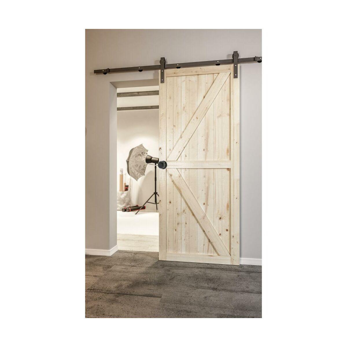 Skrzydlo Przesuwne Drewniane Loft Ii 90 Radex Drzwi Przesuwne Wewnetrzne W Atrakcyjnej Cenie W Sklepach Leroy Merlin