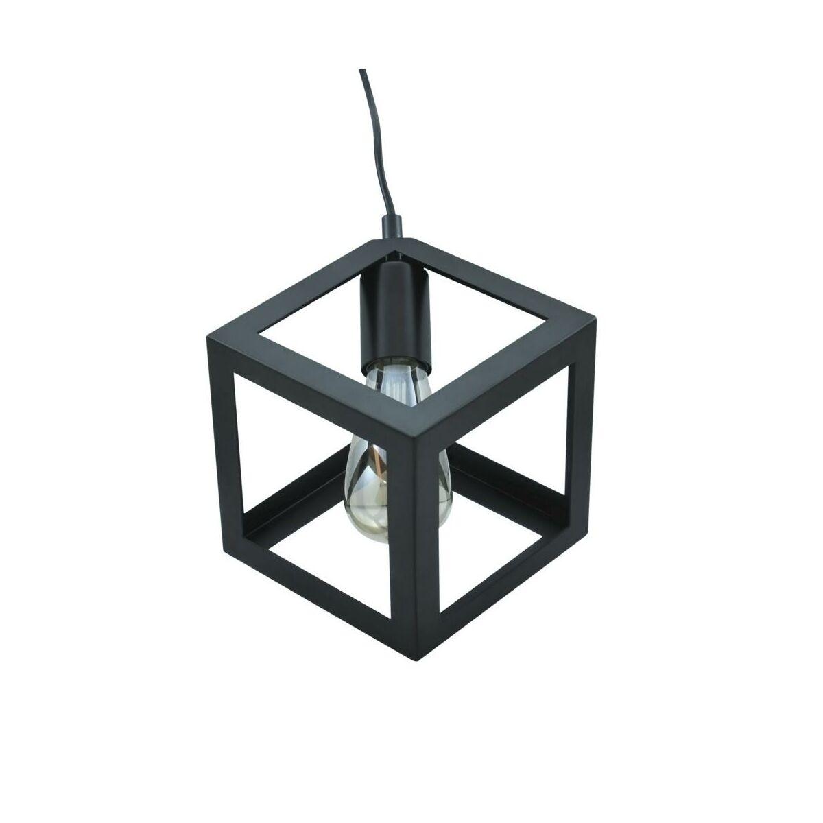 Lampa wisząca SWEDEN czarna E27 IL MIO