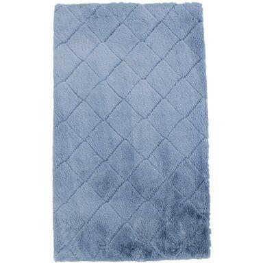 Dywan shaggy Modena niebieski 60 x 100 cm