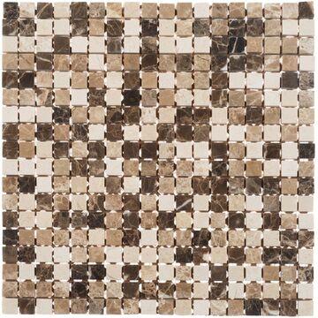 Mozaika travertine 30 5 x 30 5 cm artens trawertyn w atrakcyjnej cenie w sklepach leroy merlin for Travertine leroy merlin