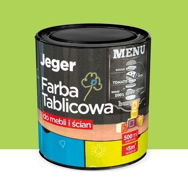 Farba tablicowa do mebli i ścian 0.5 l Zielona JEGER