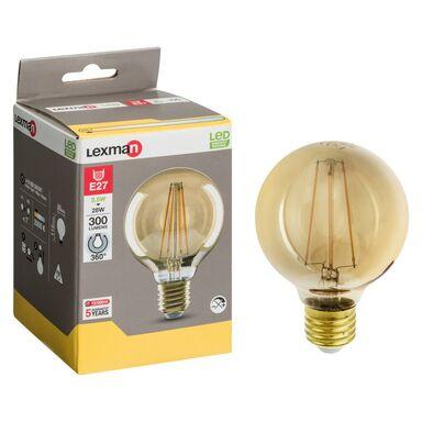 Żarówka dekoracyjna LED E27 (230 V) 4 W 300 lm LEXMAN
