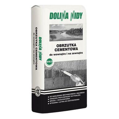 Obrzutka CEMENTOWO-WAPIENNA biało - szary DOLINA NIDY