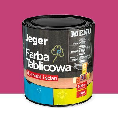 Farba tablicowa do mebli i ścian 0.5 l Fuksja JEGER