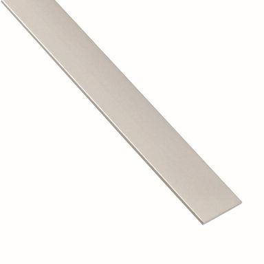 Płaskownik aluminiowy 1 m x 25 x 2 mm anodowany srebrny STANDERS