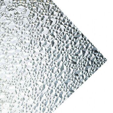 Szkło syntetyczne PUNKTY DIAMENTOWE Przejrzyste 142 x 54 cm ROBELIT