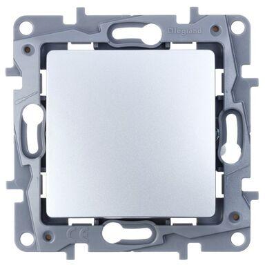 Włącznik krzyżowy NILOE Srebrny aluminowy LEGRAND
