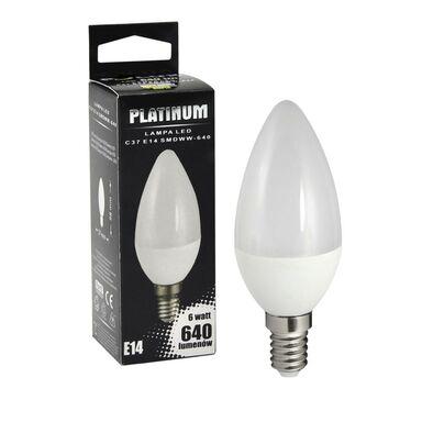 Żarówka LED E14 (230 V) 7 W 640 lm Ciepła biel POLUX