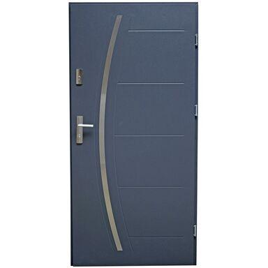 Drzwi wejściowe LINOX Antracyt 80 Prawe