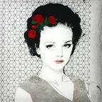 Kanwa haftowana ALENA 56 x 56 cm