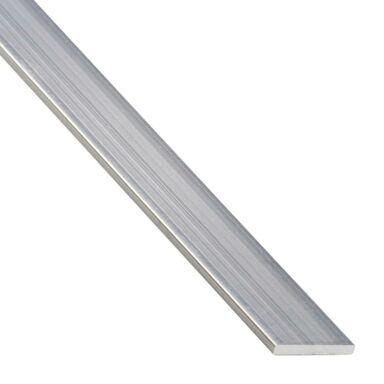 Płaskownik aluminiowy 1 m x 25 x 2 mm surowy srebrny