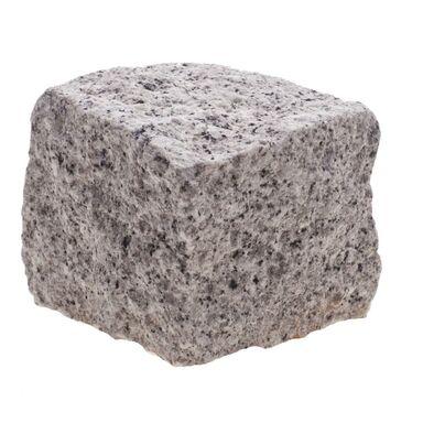 Kostka granitowa NIEREGULARNA szer. 4/6 x dł. 4/6 x wys. 4/6 cm