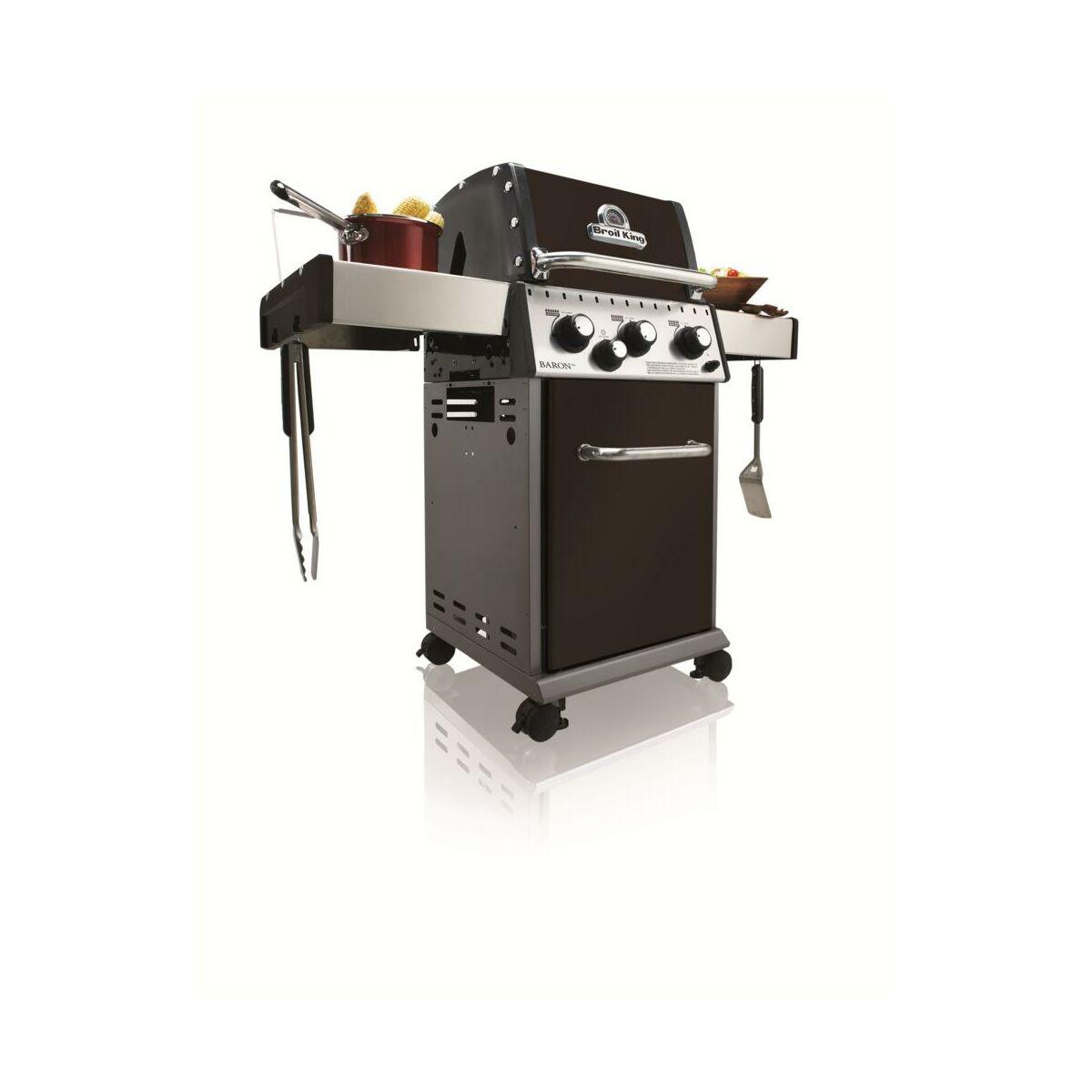 Grill gazowy baron 340 broil king grille w glowe gazowe - Grille barbecue leroy merlin ...