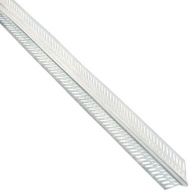 Narożnik aluminiowy WZMOCNIONY 24,5 x 24,5 3 mb NORGIPS