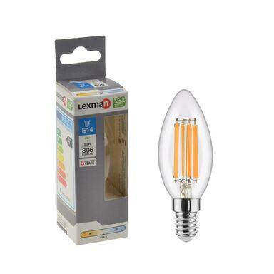 Żarówka LED E14 6 W = 60 W 806 lm Neutralna LEXMAN