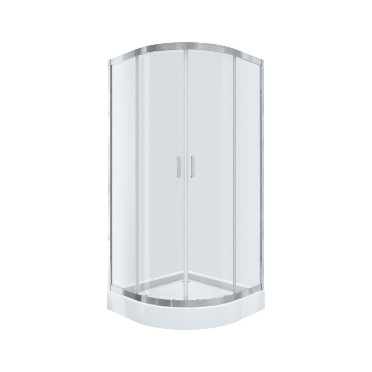 Kabina Prysznicowa Z Brodzikiem 90 X 90 Polmetal Kabiny Prysznicowe W Atrakcyjnej Cenie W Sklepach Leroy Merlin