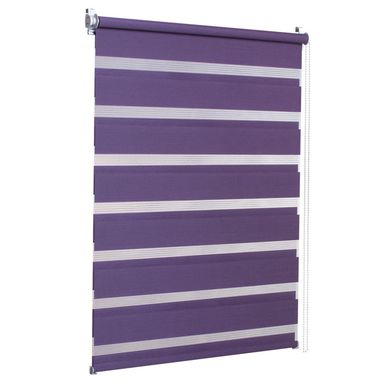 Roleta dzień noc DUO 114 x 140 cm purpura