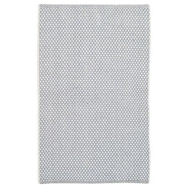 Dywan bawełniany ADEL jasnoniebieski 65 x 110 cm INSPIRE