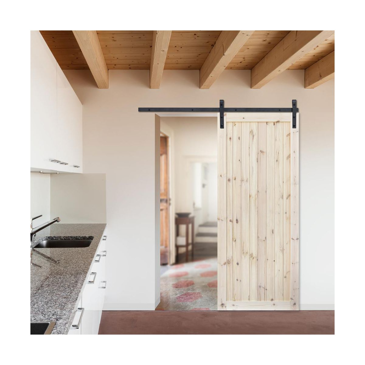 Drzwi Przesuwne Loft1 90 Uniwersalne Radex Drzwi Przesuwne
