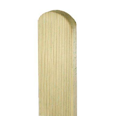 Sztacheta drewniana 120 x 9 x 2 cm ryflowana SOBEX