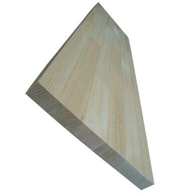Parapet wewnętrzny sosnowy bezsęczny 120x25x2.7 cm
