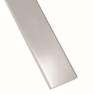 Płaskownik stalowy nierdzewny 2.6 m x 20 x 3 mm polerowany