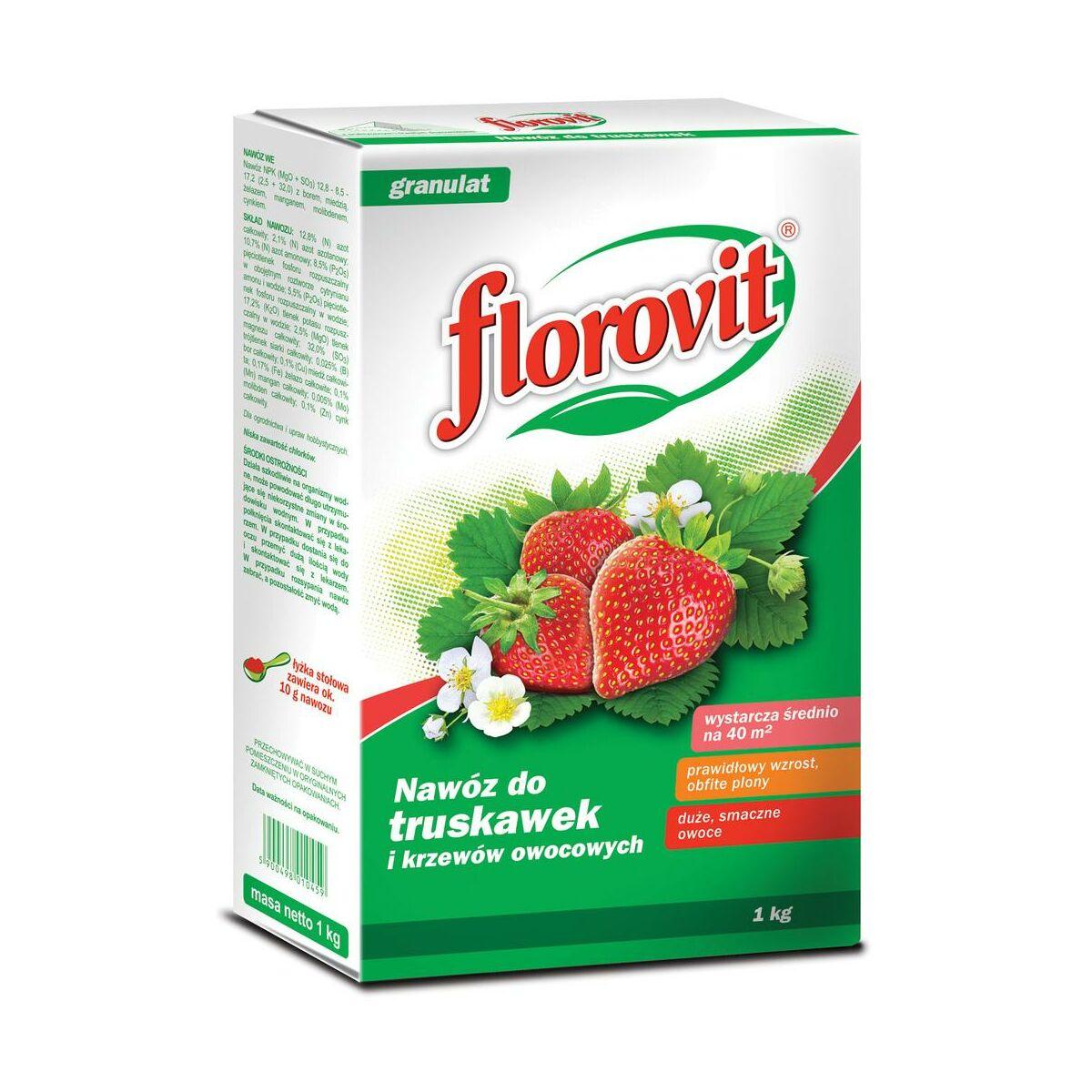 Nawóz do truskawek 1 kg FLOROVIT