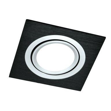 Oprawa stropowa oczko SOUTH OPAL czarna kwadratowa GU10 POLUX