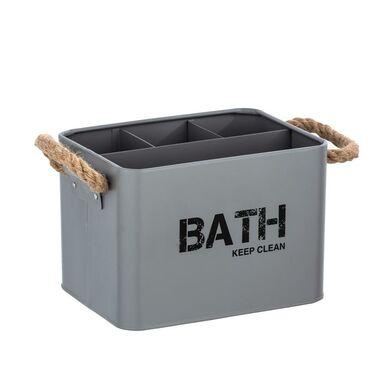 Koszyk łazienkowy GARA SZARY WENKO