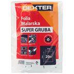 Folia malarska SUPER GRUBA 4 x 5 m DEXTER