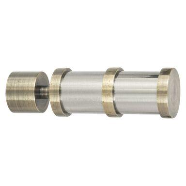 Końcówka do karnisza LINE DRUM antyczne złoto 20 mm 2 szt. INSPIRE